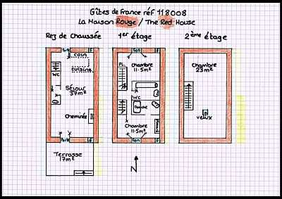 Red Floorplan