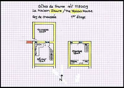 Yellow Floorplan